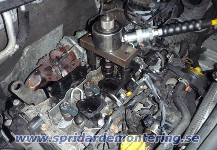 Demontering Av Dieselspridare Samt Gl 246 Dstift Alla